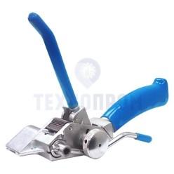 Инструмент для натяжения и резки стальной ленты с храповым механизмом и переставной рукояткой SHTOK