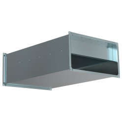 Шумоглушитель Shuft для прямоугольных воздуховодов SRr 600x350/1000