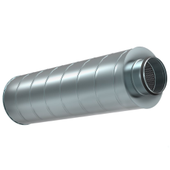 Шумоглушитель Shuft для круглых воздуховодов SCr 250/900