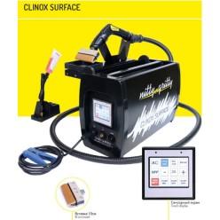 Установка CLINOX SURFACE для очистки сварных швов (2100Вт, для MIG/MIG Pulse/TIG, авт.насос, насадка 10см)