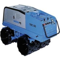 Виброкаток траншейный ручной с дизельным двигателем  Weber TRC-86