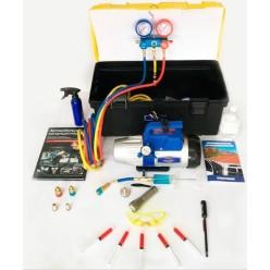 Установка для заправки автомобильных кондиционеров System Mobil Cleaning SMC-042-2 NEW
