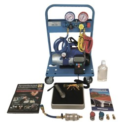 Установка для заправки автомобильных кондиционеров System Mobil Cleaning SMC 402-1